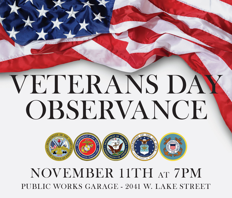 Armistice Day on November 11, 2019