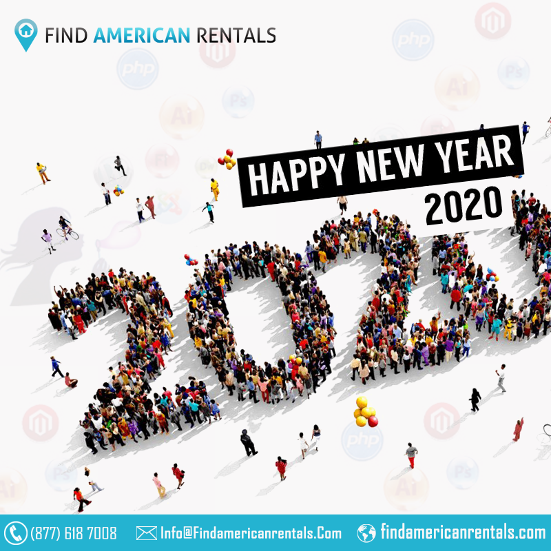 New Year 2020 with USA Vacation Rentals by Owner