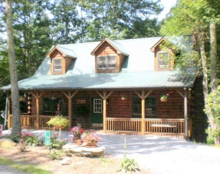 Banner Elk Cabin rental: Otter Falls Family-Fun Log Cabin* Walk To