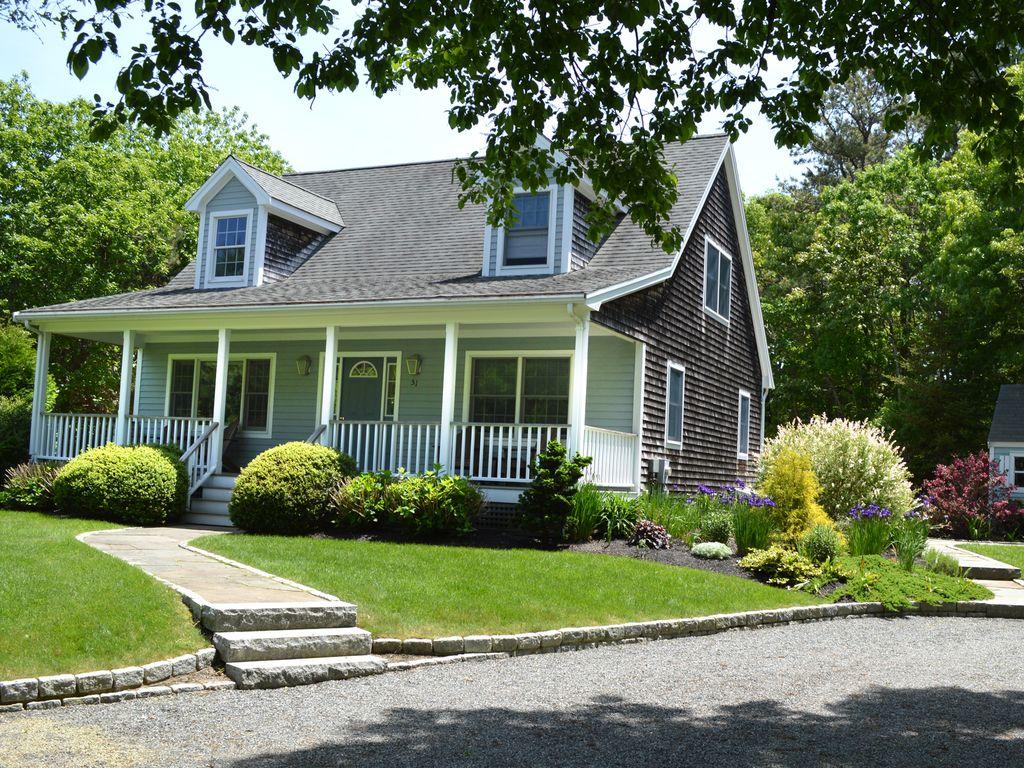 Vineyard Haven House Rental Pristine Home In Quiet