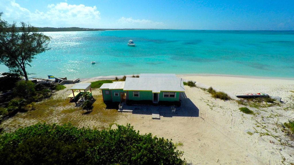 Secluded Beach House On Hooper S Bay Great Exuma The Bahamas