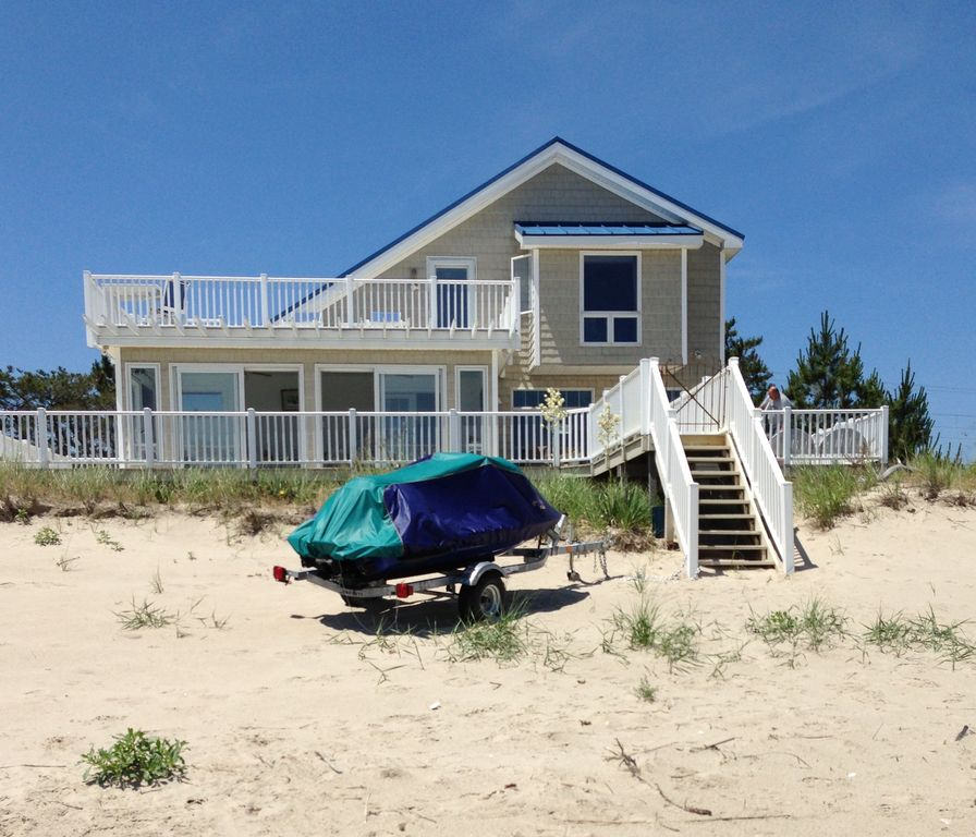 Broadkill Beach House Rental Pet Friendly Beachfront Home