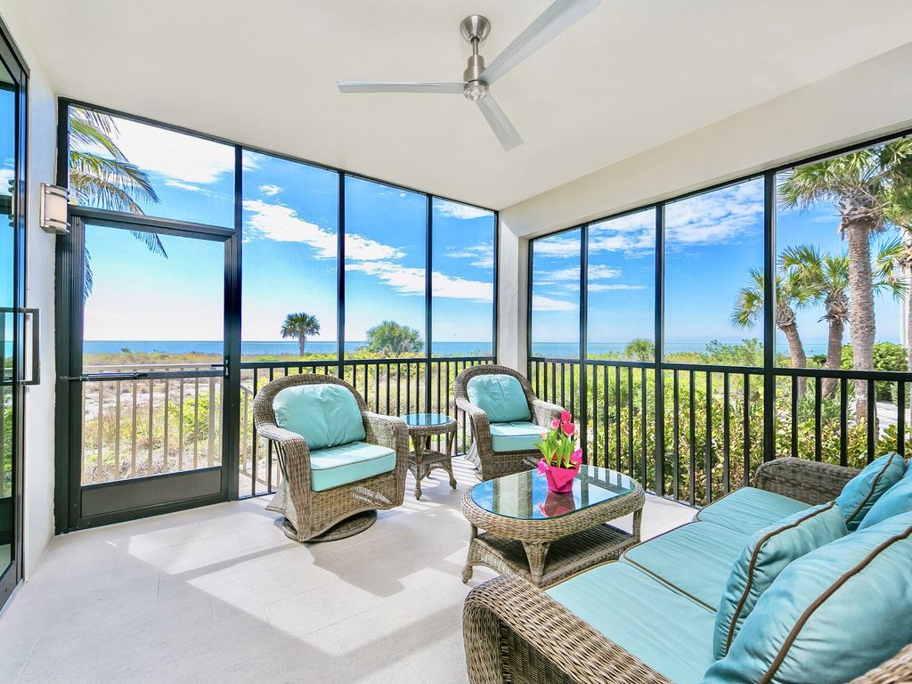 Spectacular Open Air Lanai With Incredible Views Of The Gulf